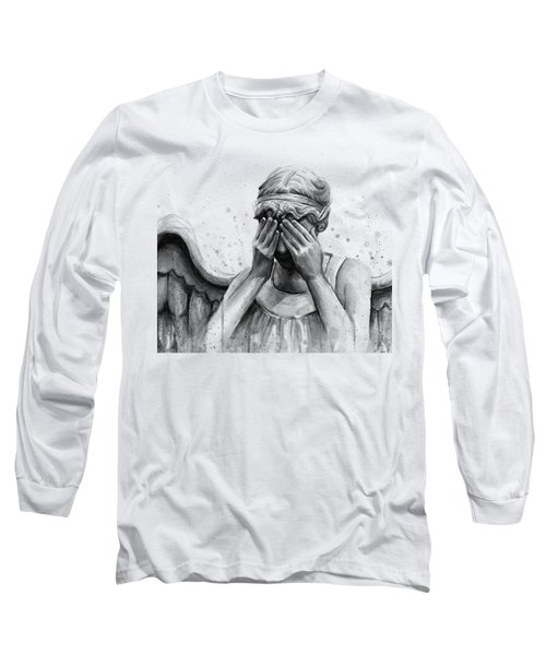 Doctor Who Weeping Angel Don't Blink Long Sleeve T-Shirt