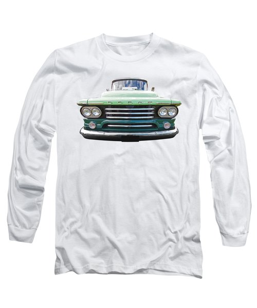 Dodge D100 Sweptside 1958 Long Sleeve T-Shirt