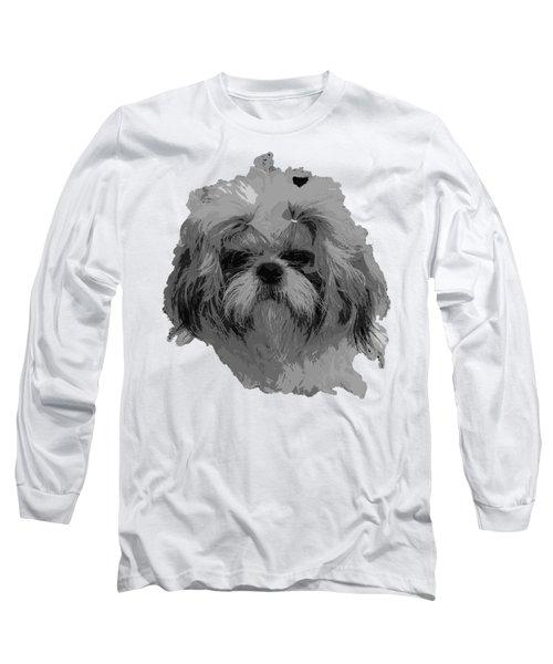 Dog Head  Long Sleeve T-Shirt