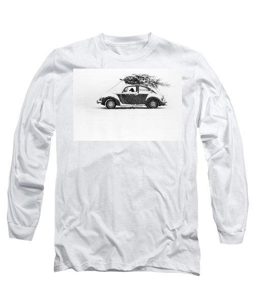 Dog In Car  Long Sleeve T-Shirt