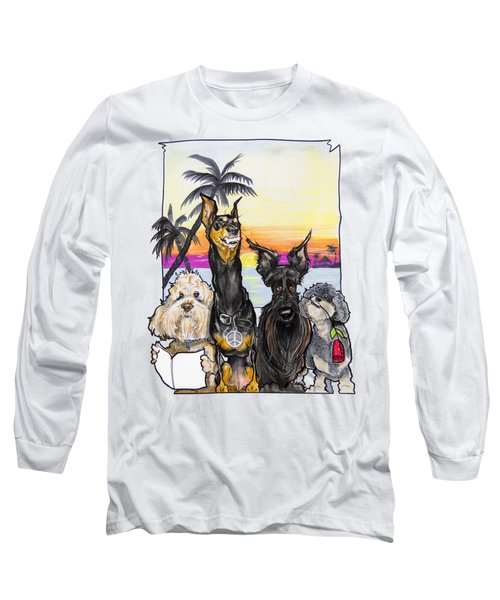 Dog Island Getaway Long Sleeve T-Shirt