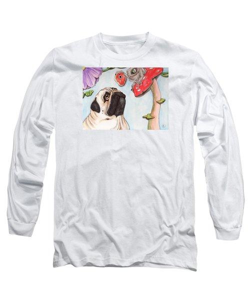 Dog Treat Long Sleeve T-Shirt