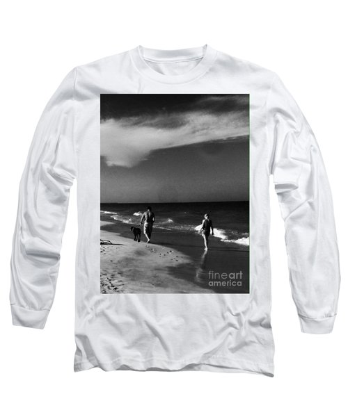 Dog Walk Long Sleeve T-Shirt