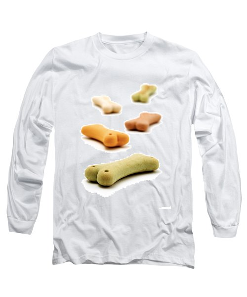 Dog's Biscuit  Long Sleeve T-Shirt