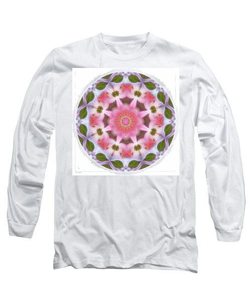 Dogwood Energy Mandala Long Sleeve T-Shirt