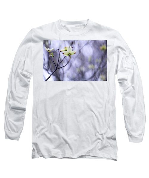 Dogwood Long Sleeve T-Shirt by Tammy Schneider