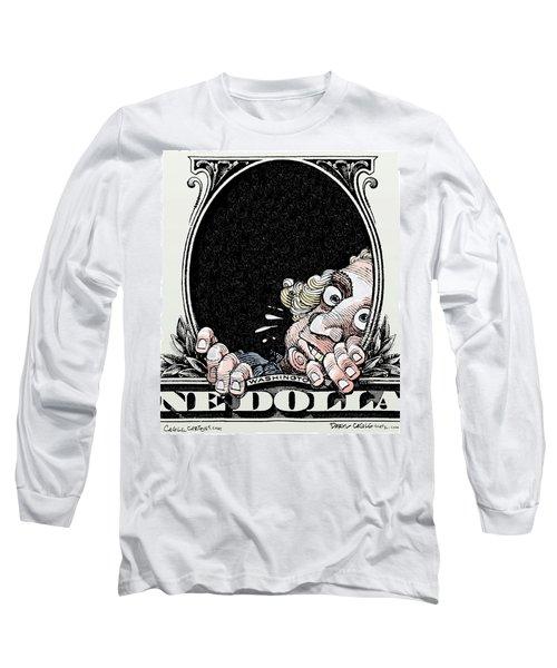 Dollar Fear Long Sleeve T-Shirt