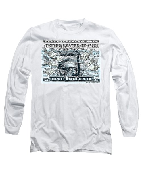Dollar Submerged Long Sleeve T-Shirt