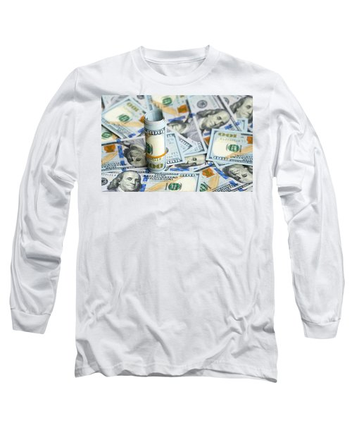 Dollar Long Sleeve T-Shirt