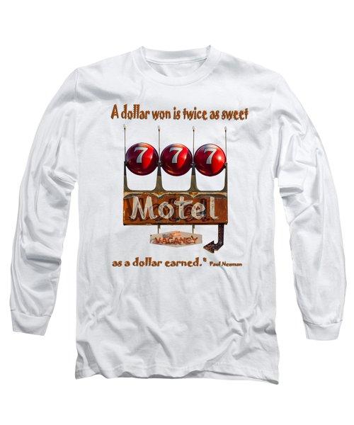 Dollar Won Long Sleeve T-Shirt by Rick Mosher