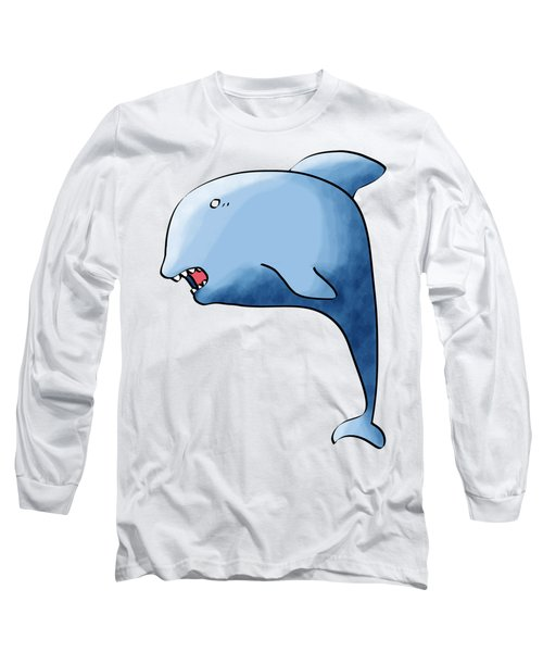Dolphin Blue Long Sleeve T-Shirt