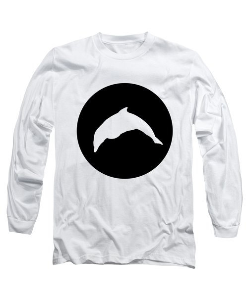 Dolphin Long Sleeve T-Shirt by Mordax Furittus
