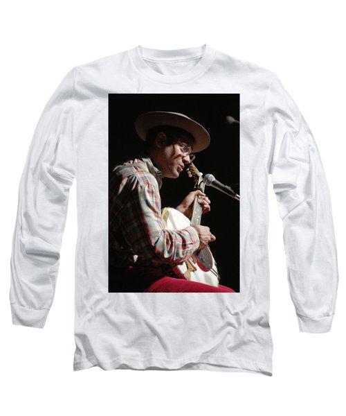 Dom Flemons Long Sleeve T-Shirt by Jim Mathis