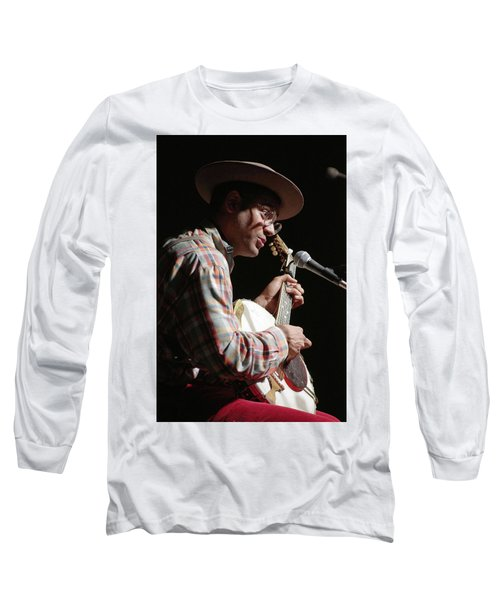 Long Sleeve T-Shirt featuring the photograph Dom Flemons by Jim Mathis