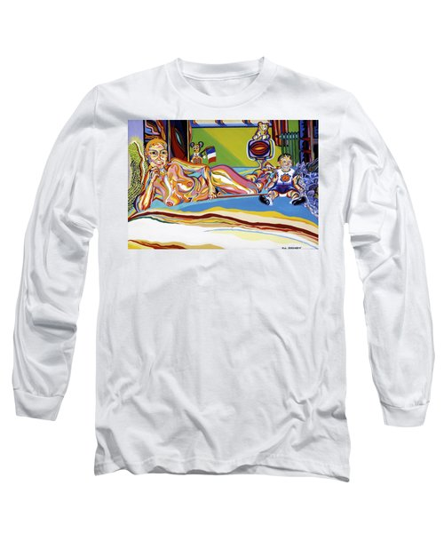 Domaine De Dominique Long Sleeve T-Shirt