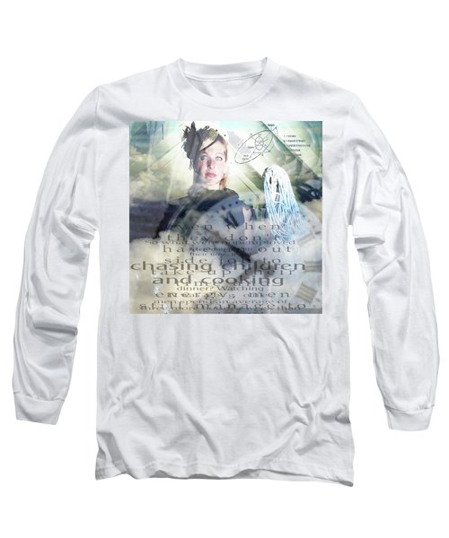 Domestic Considerations Long Sleeve T-Shirt by Ann Tracy