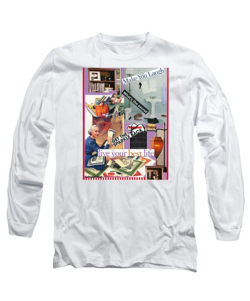 Domestic Magic Long Sleeve T-Shirt