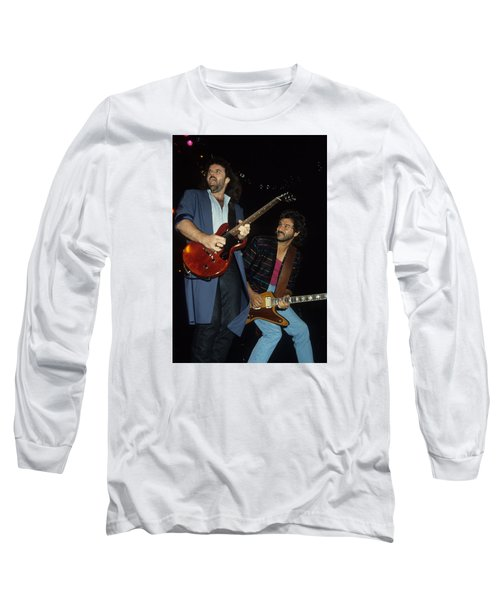 Don Barnes And Jeff Carlisi Of 38 Special Long Sleeve T-Shirt