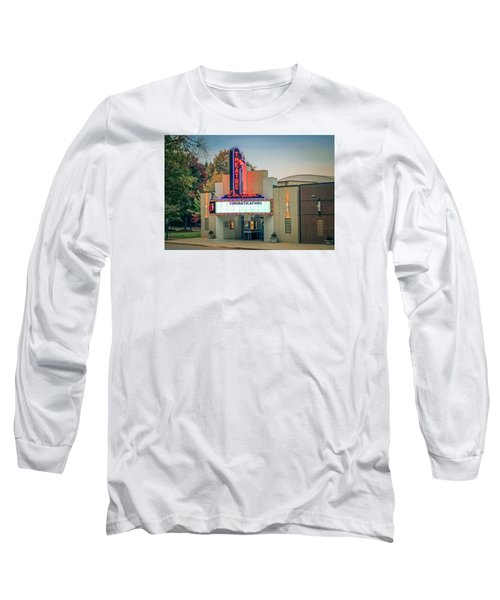 Long Sleeve T-Shirt featuring the photograph Don Gibson Theatre by Marion Johnson