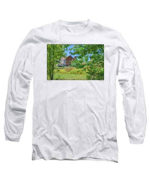 Donkey Barn Long Sleeve T-Shirt by R Thomas Berner