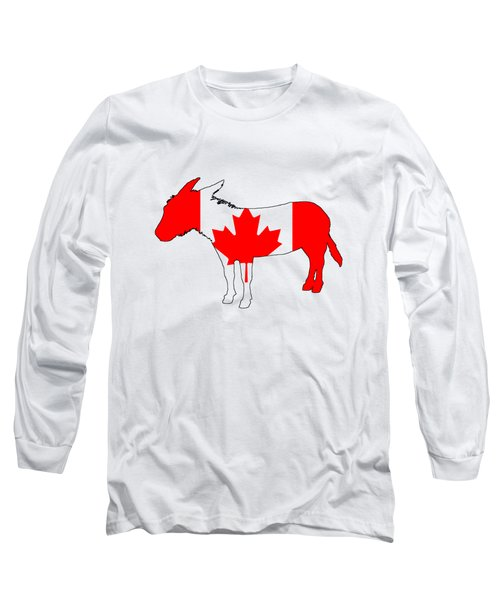 Donkey Canada Long Sleeve T-Shirt by Mordax Furittus