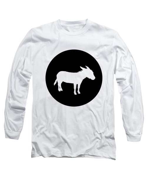 Donkey Long Sleeve T-Shirt by Mordax Furittus