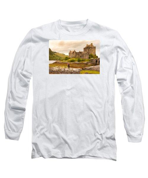 Donan Castle Long Sleeve T-Shirt