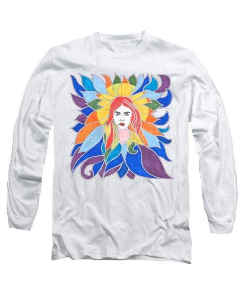 Donna Soul Portrait Long Sleeve T-Shirt
