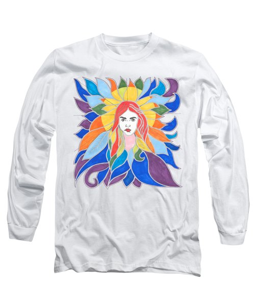Donna Soul Portrait Long Sleeve T-Shirt