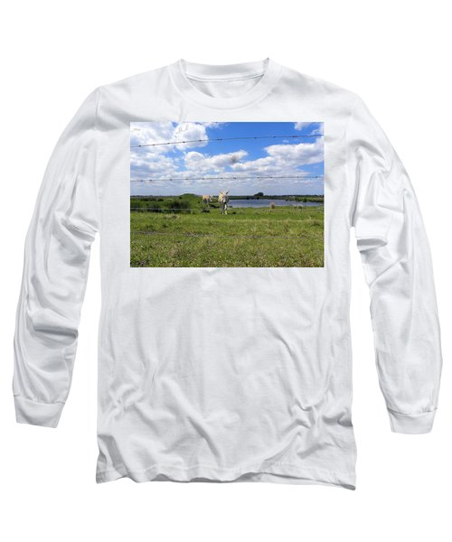 Long Sleeve T-Shirt featuring the photograph Don't Fence Me In by Chris Mercer