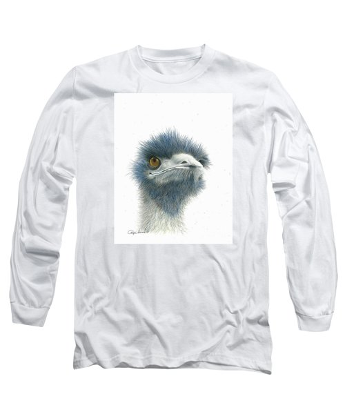 Dont Mess With Emu Long Sleeve T-Shirt by Phyllis Howard