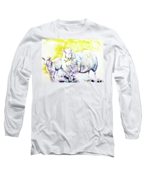 Don't Mess With My Lamb Long Sleeve T-Shirt