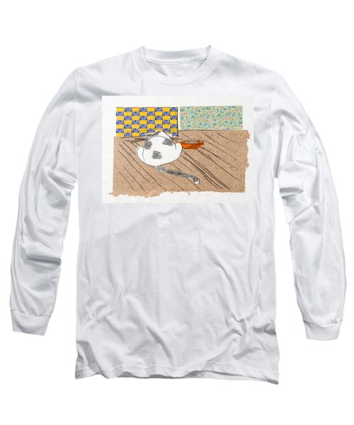 Don't Touch Me Or I Will Eat You Too Long Sleeve T-Shirt by Leela Payne