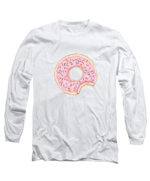 Donut Long Sleeve T-Shirt by Kathleen Sartoris