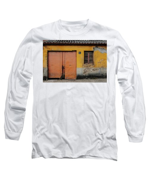 Long Sleeve T-Shirt featuring the photograph Door No 162 by Marco Oliveira