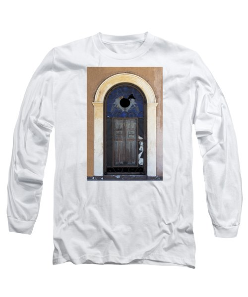 Door With A Hole Long Sleeve T-Shirt