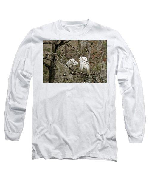 Doting Couple Long Sleeve T-Shirt