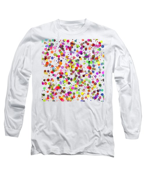 Dots Long Sleeve T-Shirt by Roger Lighterness