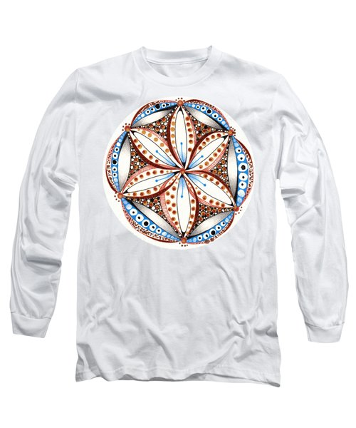 Dotted Zendala Long Sleeve T-Shirt