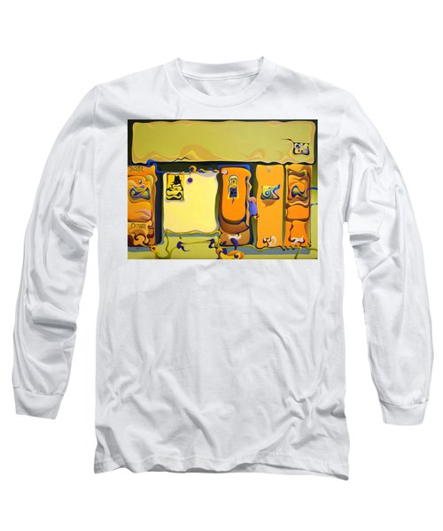 Double Door Power Play Long Sleeve T-Shirt