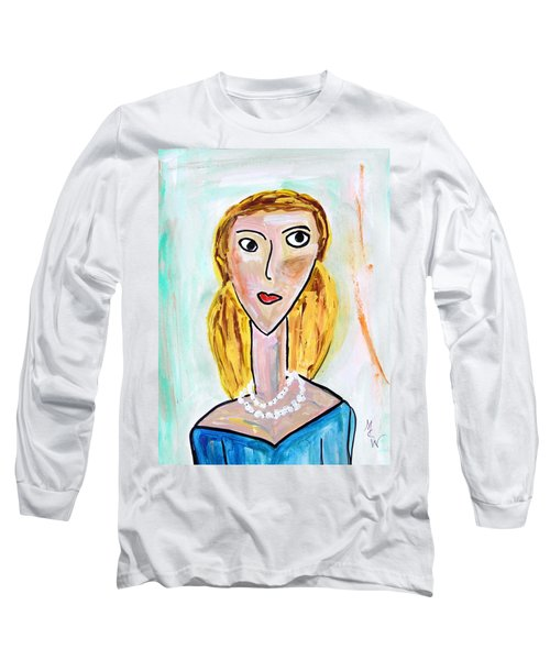 Double Strand Long Sleeve T-Shirt by Mary Carol Williams