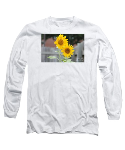 Double Sunflowers Long Sleeve T-Shirt