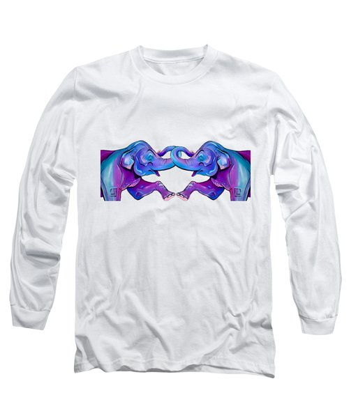 Double Take Elephant Long Sleeve T-Shirt