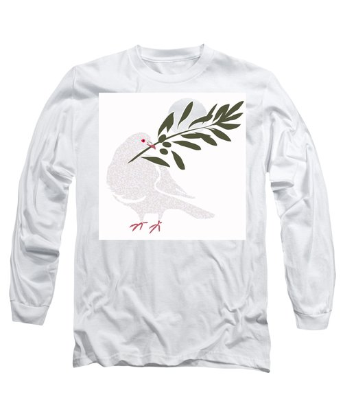 Dove Of Peace Long Sleeve T-Shirt