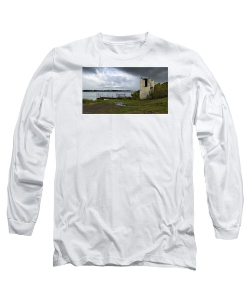 Long Sleeve T-Shirt featuring the photograph Down By The River 01 by Kevin Chippindall