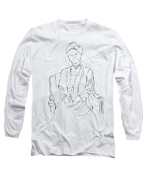 Downton Abbey - The Dowager Countess Long Sleeve T-Shirt