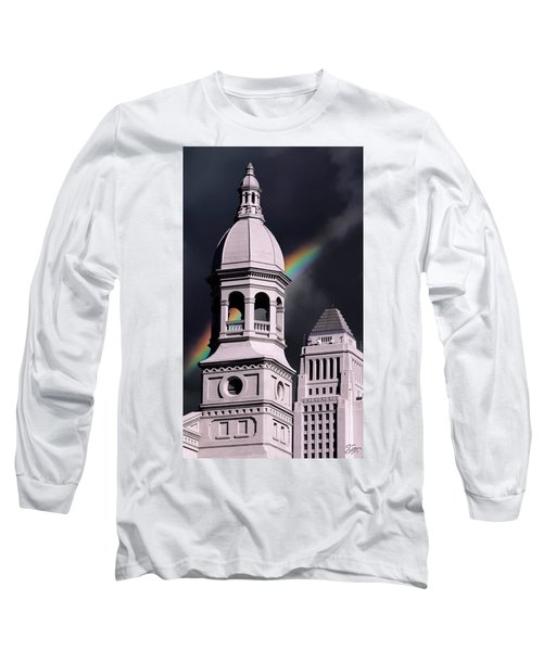 Downtown Buildings Long Sleeve T-Shirt