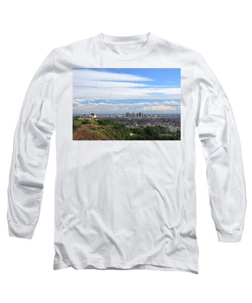 Downtown Los Angeles Long Sleeve T-Shirt