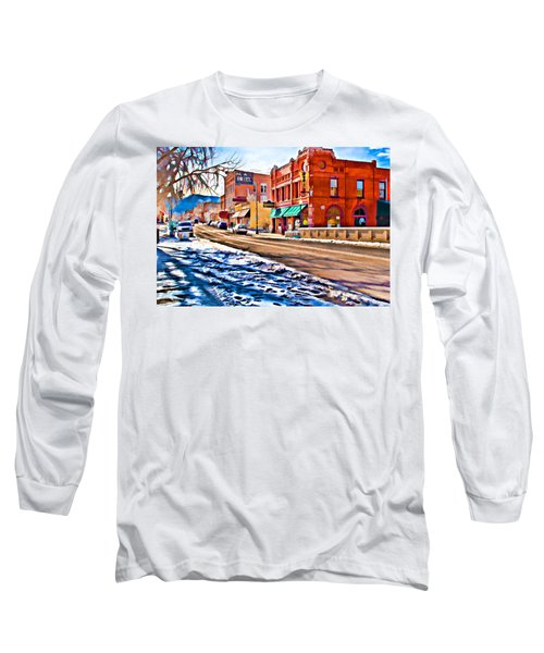 Downtown Salida Hotels Long Sleeve T-Shirt