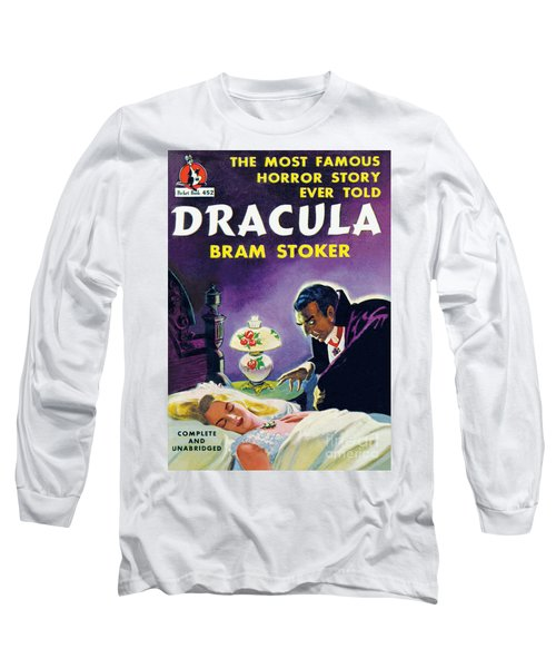 Dracula Long Sleeve T-Shirt by Unknown Artist
